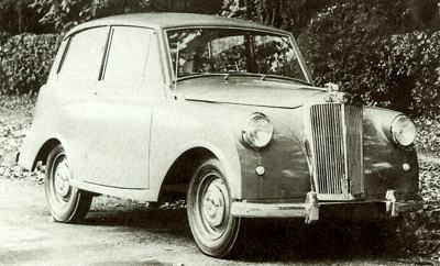1950 Triumph Mayflower
