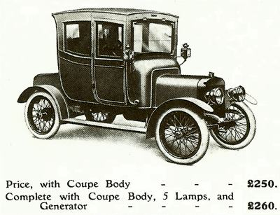 1913 Turner Ten Closed Coupe