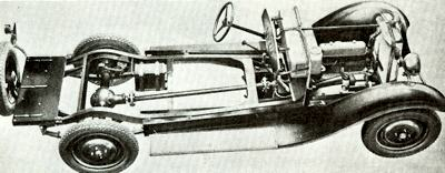 Chassis of the 1931 1500cc Wanderer