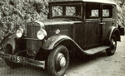 1930 four-cylinder, four-door Wanderer sedan