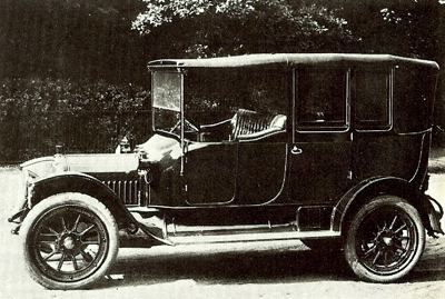 A petrol engined 1912 White 20hp tourer