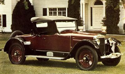 1922 Wills Sainte Claire A68 Roadster