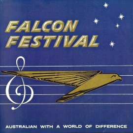Falcon Festival - Australian With A World Of Difference